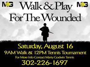 Walk & Play for the Wounded
